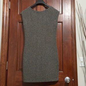 Zara Knit Cap Sleeve Body Contour Dress